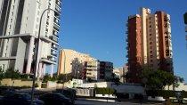 bloki mieszkalne, osiedle